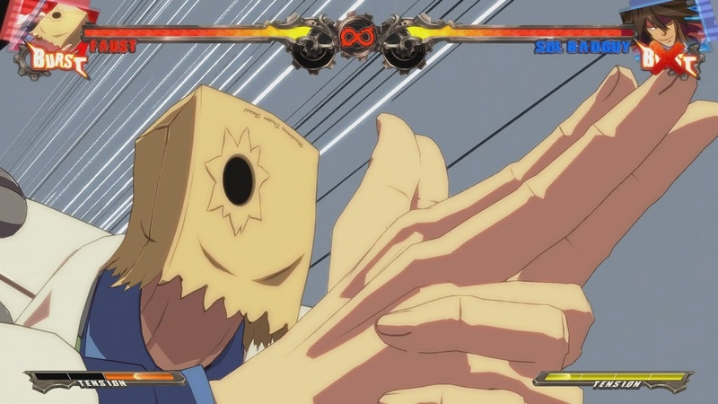 Guilty Gear Xrd Sign Faust Stimulating Fists of Annihilation on All Characters 1080p60HD