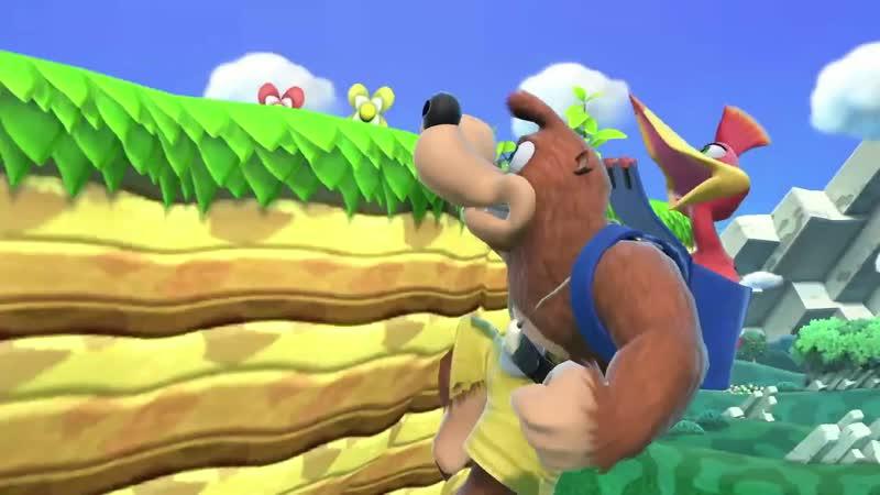 Banjo Kazooie Coming to Super Smash Bros Ultimate E3 Nintendo Direct