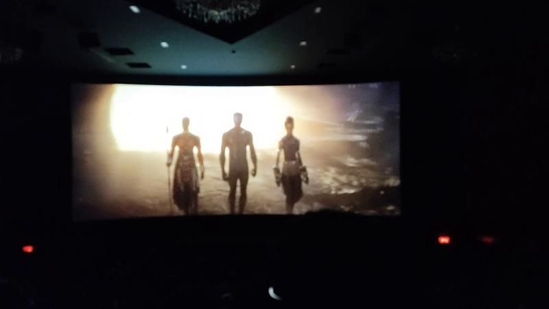 Avengers action Endgame movie scene .public response.