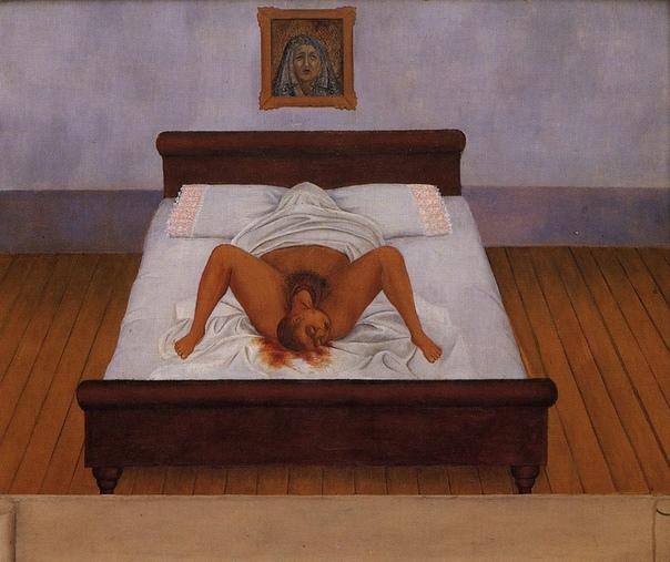 «История одного шедевра». «Моё рождение», Фрида Кало