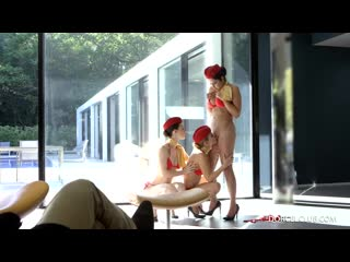 Mariska, misha cross and alexis crystal lesbian games [lesbian]