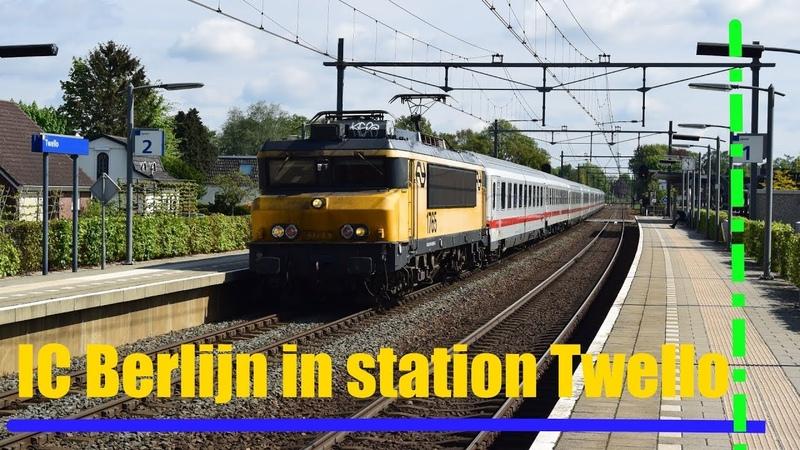 NS loc 1765 komt met IC Berlijn door Twello