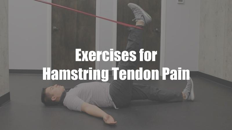 Exercises for Hamstring Tendon Pain