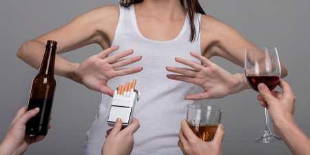 Как остаться не курящим во время стресса