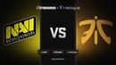 RU Natus Vincere vs fnatic Map 3 Inferno Grand Final StarSeries i League Season 7
