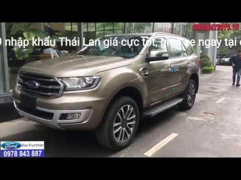 Cận cảnh Ford Everest 2019 nhập khẩu Giá xe Ford Everest 2019 2 0 Bi Tubor từ 1 399 tỷ giao xe ngay