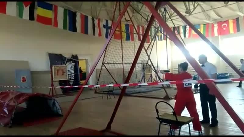 Чемпионат Росси в городе Медынь - Евгения Покачалова (полоса)