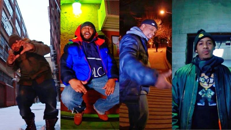 Snowgoons - 4 Stripes ft Jay Royale, Fel Sweetenberg, Illa Ghee Ali Vegas (VIDEO)