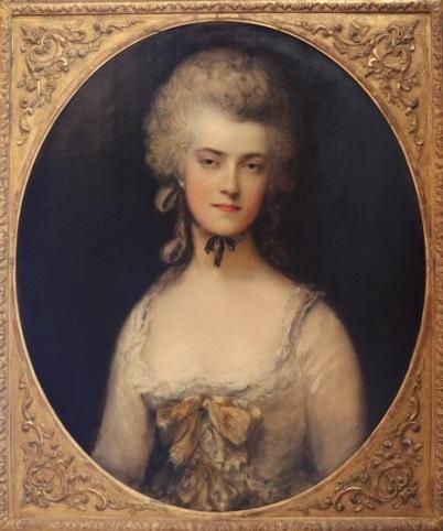 « одного шедевра». «Портрет миссис Мэри Робинсон» («Потеря»), Томас Гейнсборо