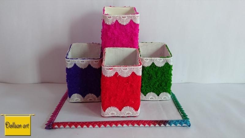 Easy Best out of waste craft idea | DIY | cardboard boxmedicine box ideas | Reuse idea