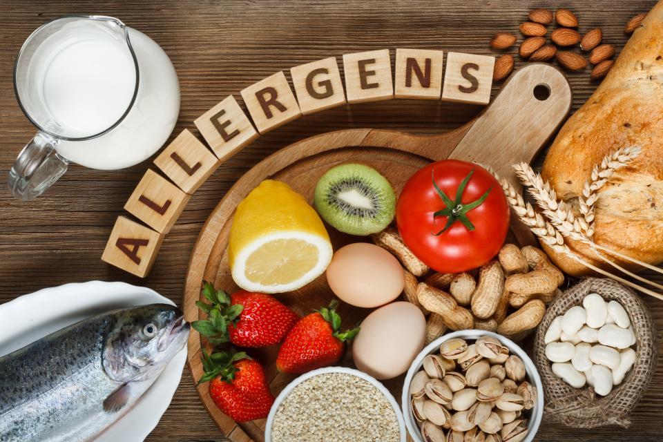 Есть много видов пищи от которой у детей возникает аллергия.