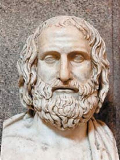 СПОР ДВУХ ТИТАНОВ Аристофан (ок. 446385 гг. до н.э.) назван «отцом комедии». Но он вполне заслужил и почётное звание родоначальника литературной пародии. Яркий образец комедия «Лягушки»,