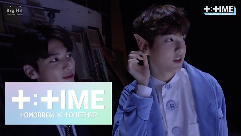 [T:TIME] SOOBIN and TAEHYUN's 'Nap of a star' Dance - TXT (투모로우바이투게더)