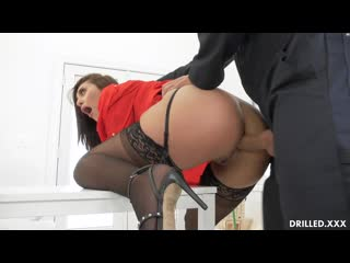 [drilled] bella rolland - gets the janitor to fuck her ass newporn2020