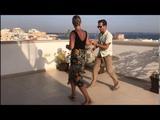 50s Jiving Rockabilly Jive Dance RocknRoll Dance Rooftop (Lisa &amp Hannes)