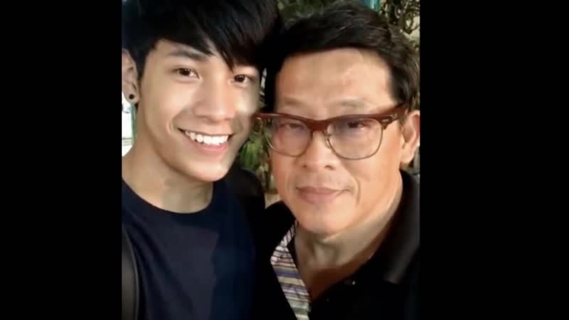Singto with father Such cute _)