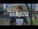 Award-winning DNA DISCOUNTS advertisement for AeroMexico airlines