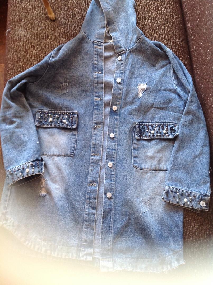 продам джинсовую куртку | Объявления Орска и Новотроицка №2878