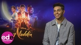 ALADDIN Mena Massoud on dealing with fame and beatboxing with Will Smith!
