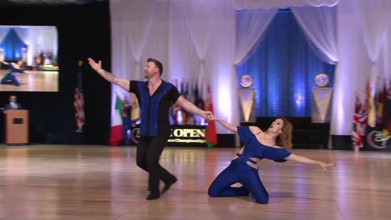 Myles Munroe Tessa Cunningham Munroe 2nd Place Showcase at The Open 2018