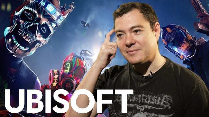 E3 2019 Ubisoft - Watch Dogs Legion и все-все-все