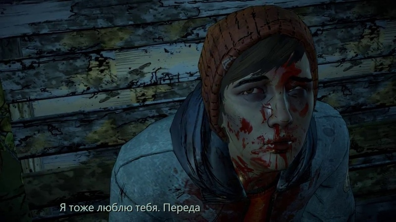 The Walking Dead A New Frontier Концовка со смертью Гейба и поцелуем Клементины