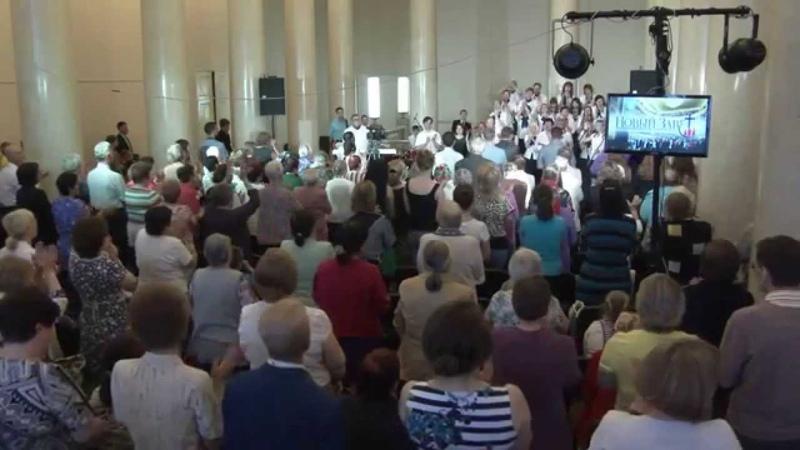 Воскресное служение Церкви Новый Завет в r. Перми 22.06.2014, 11.00