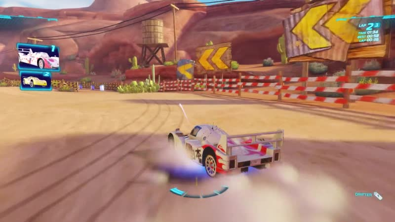 Cars 2 The Video Game ¦ Shu Todoroki - Timberline Sprint ¦