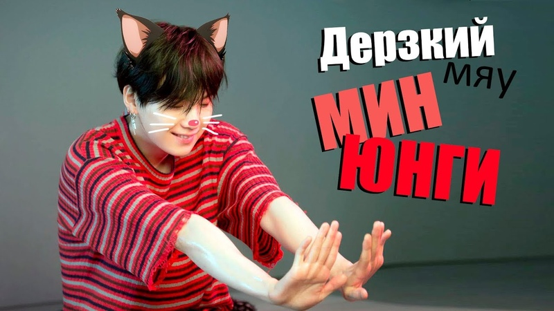ДЕРЗКИЙ (МЯУ) МИН ЮНГИ | SUGA BTS | K-POP ARI RANG