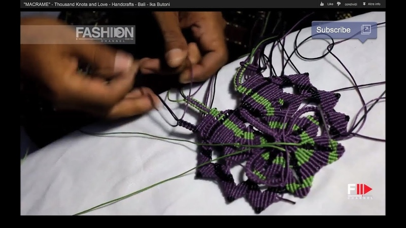 MACRAME Thousand Knots and Love Handcrafts Bali Ika Butoni