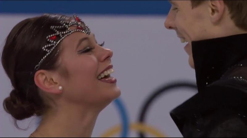 Ilinykh - Katsalapov 2014-02 Olympics FD Swanlake Tchaikovsky BBC