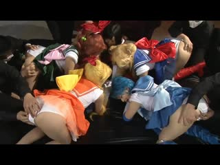 Bishoujo senshi sailor moon - group orgy [japanese anime hentai porno sex erotic blowjob  jav cosplay]