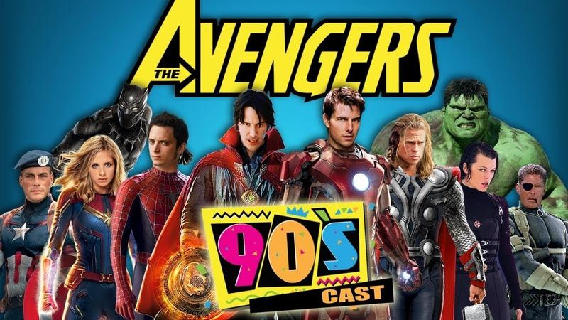 The Avengers 90's Cast Trailer - Fan made - WTM