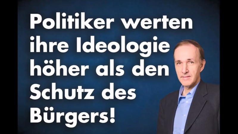 Ihre Ideologie ist für Linke das höchste Gut   Dr. Gottfried Curio