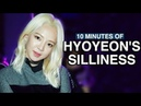 10 MINUTES OF SNSD HYOYEON'S SILLINESS