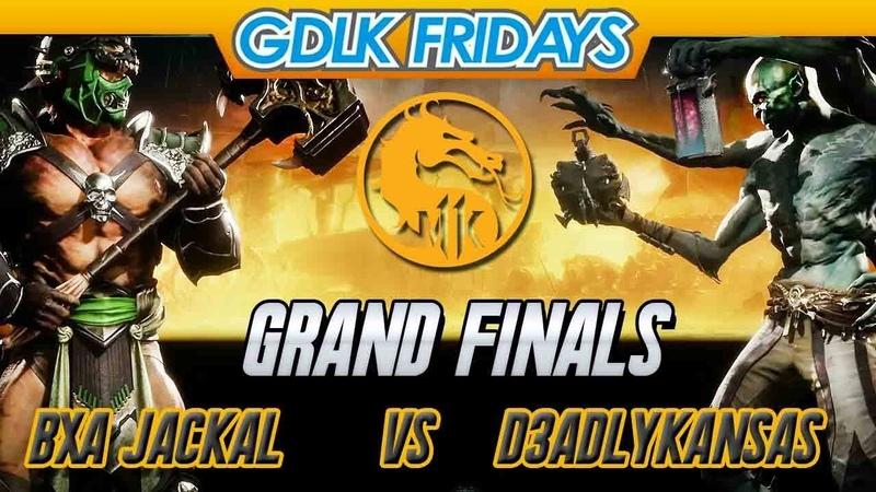 Mortal Kombat 11『 Grand Finals 』BXA Jackal Shao Kahn Kung Lao vs D3adlyKansas Kollector