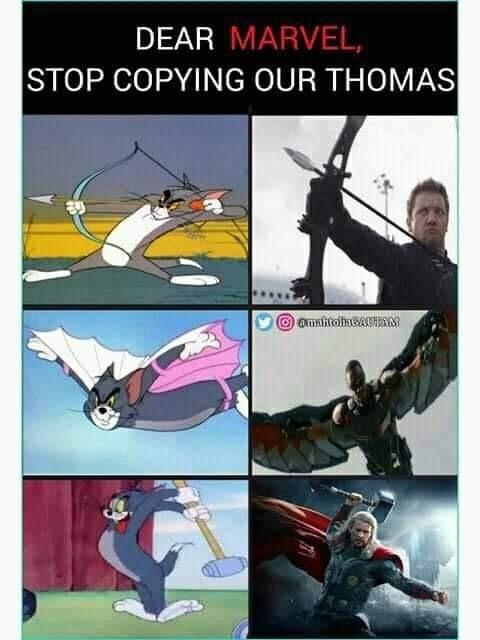 Уважаемый Марвэл, перестаньте копировать нашего Томаса!