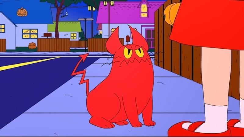 데빌캣(Devil Cat)-[약혐주의]봉인이 풀린 악마고양이! 할머니 화이팅!-청강 애니메