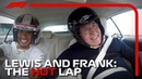 Lewis Hamilton and Frank Williams A Very Special Hot Lap