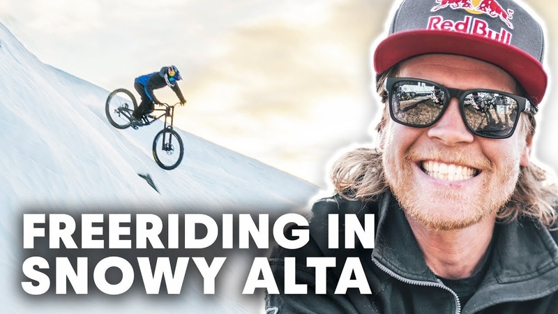 Putting Down Freeride MTB Powder Lines | Makken The Tourist - Alta