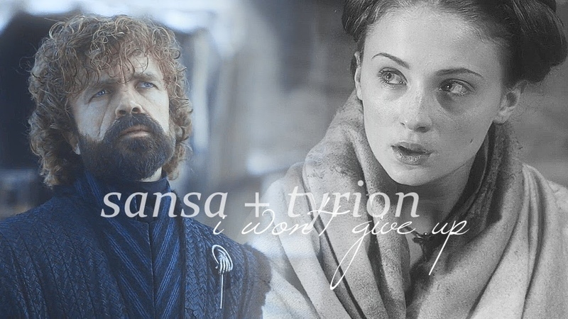 Sansa tyrion | i won't give up (8x06)