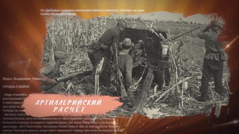 История в фотографиях. Донбасс в борьбе с фашизмом. Выпуск №46