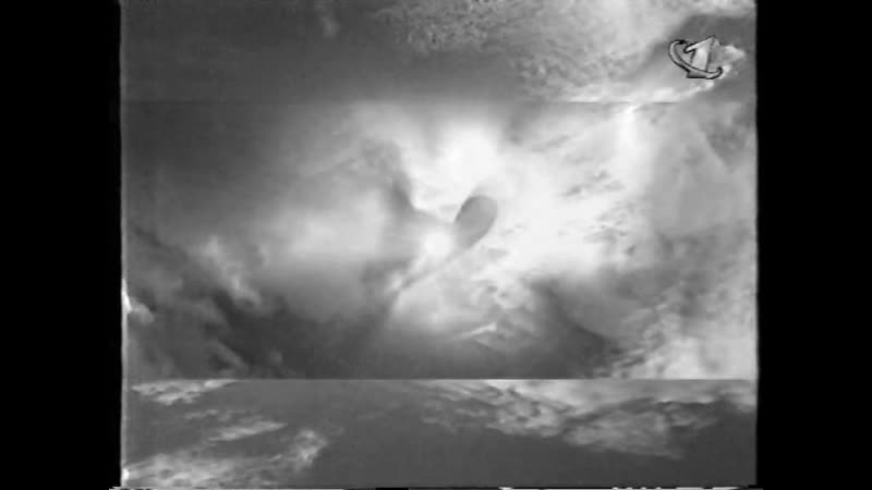 Фрагмент прогноза погоды концовка Время заставка 2000 ОРТ март 2000