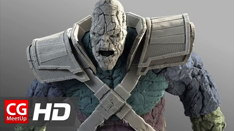CGI VFX Breakdown HD Thor: The Dark World Stone Man by Luma Pictures | CGMeetup