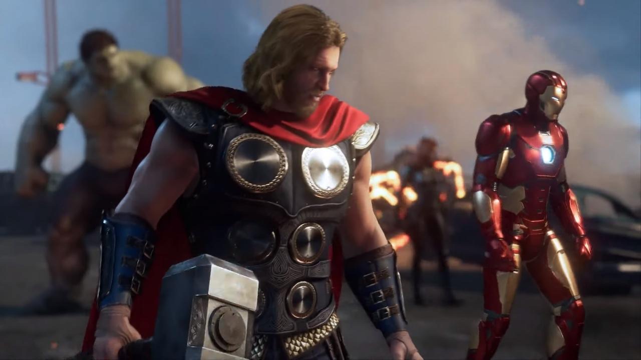 marvel's avengers игра 2019