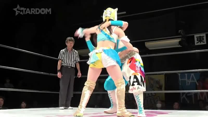 03.Kaori.Yoneyama,Natsuko.Tora..Jungle.Kyona.vs.Xia.Brookside,Starlight.Kid..Mayu.Iwatani