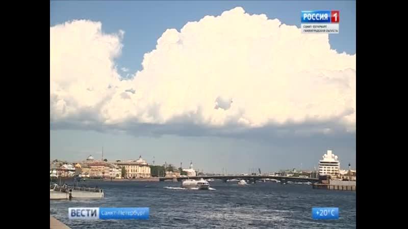 Циклон принесет похолодание в Петербург и Ленинградскую область.