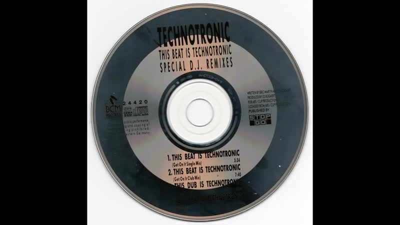 Technotronic - This Beat Is Technotronic (Special D.J. Remixes) (1990 CDM) - 4 Mixes.wav