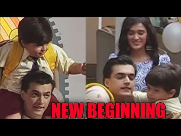 Yeh Rishta Kya Kehlata Hai Kartik begins a new journey with Vedika and her kid