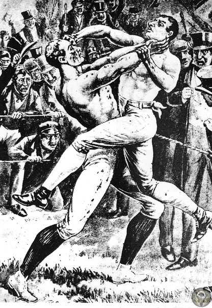 Без перчаток, весовых категорий и под дождем: как боксировали в старину. В Англии XVIII и XIX веков был популярен так называемый «английский призовой бокс»: поединки, в которых сходились и